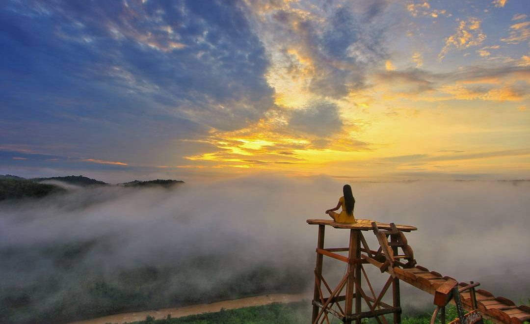 The Adventure in Instagramable Lands Above the Clouds in Jogja