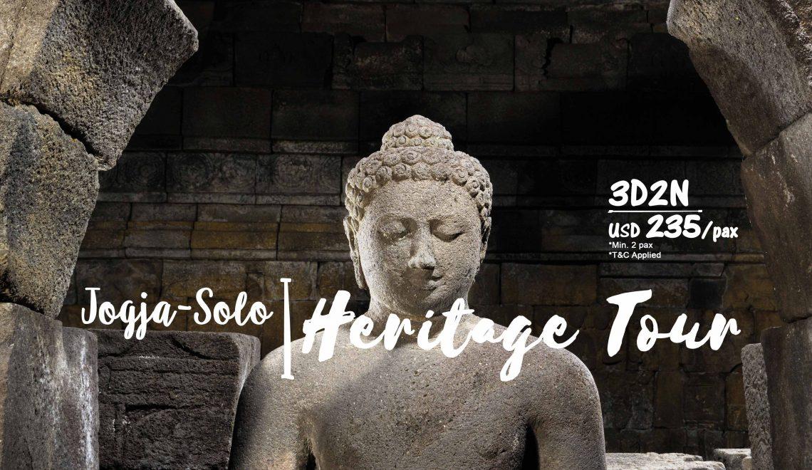 Jogja-Solo Heritage Tour 3D2N