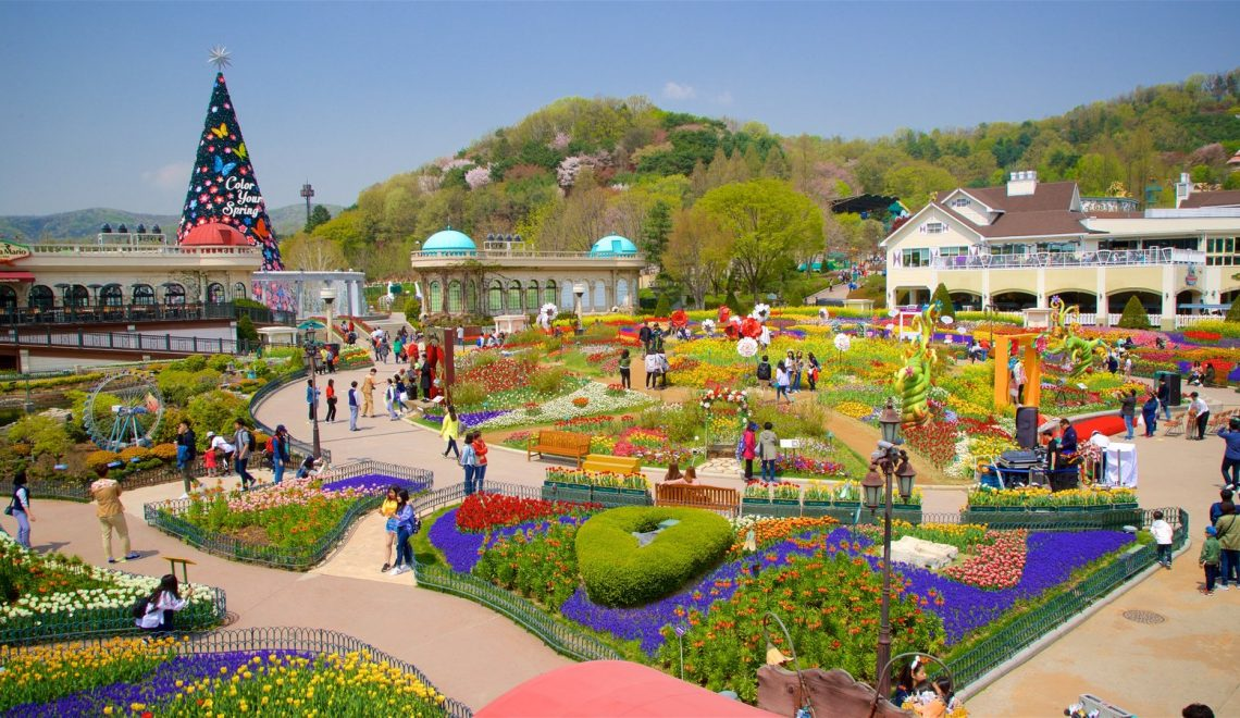 OPEN TRIP 7D5N: SUMMER VISIT KOREA JEJU + EVERLAND